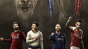 """""""Vieni vartai"""": anglų triumfas, nepamirštama Čempionų lyga ir eilės """"šviniui"""""""