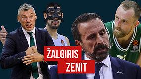 """""""Eurolygos diena"""": """"Žalgirio"""" banga, stringantis J.Plazos """"Zenit"""" ir išskirtinis Milo interviu"""