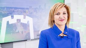 Edita Tamošiūnaitė: Mano tikslas Vilniaus mero rinkimuose – antras turas
