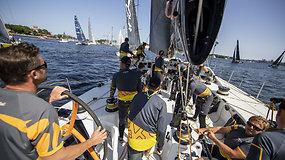 """Ambersail 2"" startuoja regatoje ""AF Offshore Race"" aplink Gotlando salą"