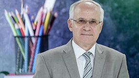 """Naujus mokslo metus pasitinkantis A.Monkevičius: """"Nenoriu būti streiko priežastis"""""""