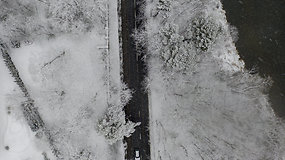 Žiema, kurios seniai neregėjome: miestus ir gamtą užklojo sniegas