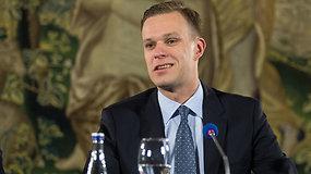 """G.Landsbergis: """"Kol veiks derybos dviem frontais, Tėvynės sąjunga tiesiog nedalyvaus"""""""
