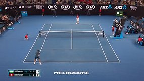 "Dienos taškas ""Australian Open"": Rogeris Federeris pademonstravo meistrystę"