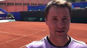 R. Berankis, Davis Cup Marokas - Lietuva