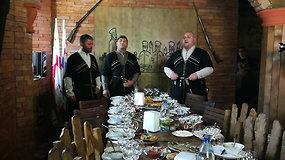 Gruziniškos dainos užstalėje