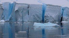 Antarktidoje kelionę aplink pasaulį pradėję lietuviai pasijuto kitoje dimensijoje