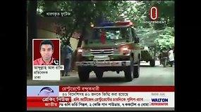 Įkaitų drama Bangladešo sostinės diplomatų kvartale