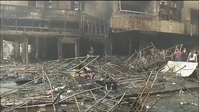 """Bagdadą sudrebino """"Islamo valstybės"""" sprogdinimai"""