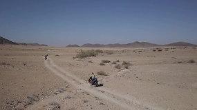 Ilga ir sudėtinga kelionė Namibijoje: kokie žmonės nuo to kaifuotų?