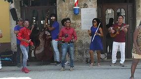 Gatvės muzikantai Kuboje