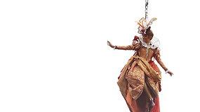 """""""Angelo skrydžiu"""" prasidėjo tradicinis Venecijos karnavalas"""