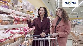 """Gabrielė apsipirko ruošdamasi įkurtuvių vakarėliui. """"Maximoje"""" jai apsimoka!"""