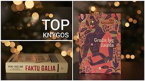 Gruodžio mėnesio TOP: 17 naujų įsimintinų knygų