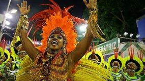 Šokėjai jau rengiasi svarbiausiam metų metų įvykiui – Rio de Žaneiro karnavalui