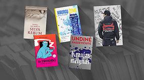 Skaitytojų išrinktos 5 geriausios lietuvių autorių knygos