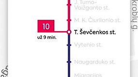 """Pavel Shmeliov darbas """"Vilniaus viešojo transporto navigacija"""""""