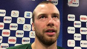 Lukas Lekavičius: pralaimėjimo prognozės mums pridėjo motyvacijos