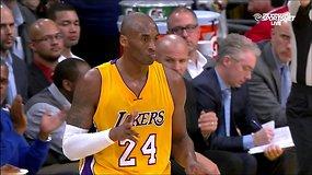 Kobe Bryanto tritaškis su pražanga