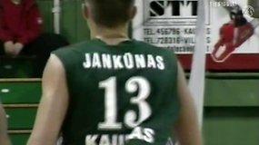 #RetroŽalgiris. P.Jankūnas prisiminė savo debiutinį mačą Eurolygoje