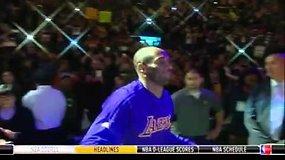 Emocingas Kobe Bryanto pristatymas Bostone