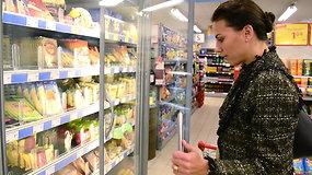 Kokius maisto produktus perka Ineta ir Julija?