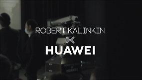 """Robertas Kalinkinas ir """"Huawei"""" naujoje vyrų mados kapsulėje sujungė technologijas ir stilių"""