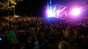 Džordanos Butkutės nemokamas koncertas Tauragėje