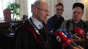 Vilniaus apygardos teismo teisėjo Ernesto Rimšelio komentaras