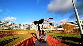 Akrobatinė joga: ką reikia žinoti?