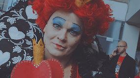 Įkūnyti pašėlusius personažus mėgstanti moteris: apie persirengėlių bendruomenę ir įmantrius kostiumus