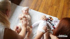 Kūdikių masažo specialistė: apie naudą ir pagrindines taisykles