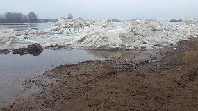 Dėl potvynio Šilutės rajone paskelbta ekstremali padėtis