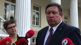 R.Karoblis išrinkto prezidento prašė naują kariuomenės vadą paskirti per 12 dienų