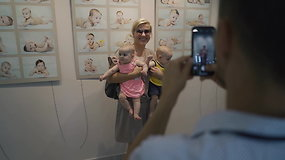 Ypatingoje parodoje – 175 kūdikių, gimusių Lietuvos valstybės atkūrimo šimtmečio metais