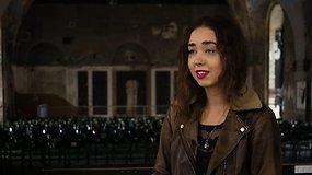 Indrė siekia, kad apleistoje Kauno bažnyčioje vyktų kultūriniai renginiai