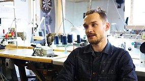 Siūti sumanęs vaikinas rado Lietuvoje dar neužpildytą verslo nišą