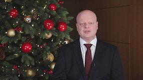Premjero Sauliaus Skvernelio kalėdinis sveikinimas