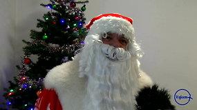 """""""Kylam"""": Kalėdų Senelis į Kauną vaikams atskraidino ir šventinę nuotaiką, ir žinių"""