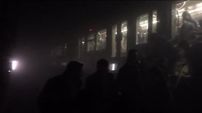Vaizdo įraše – akimirkos po sprogimo Briuselio metro