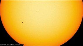 Retas astronominis reiškinys – Merkurijaus tranzitas per Saulę