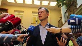 """Po susitikimo su """"valstiečiais"""" G.Landsbergis: jokių reikalavimų neišgirdau"""