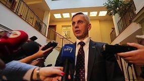 """P.Urbšys: """"Mūsų tikslas – sudaryti nacionalinės vienybės Vyriausybę"""""""