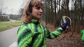 """""""Sportuok su Vlada.lt"""": paslėptų radijo imtuvų paieškos miške ir lieknėjimo patarimai"""