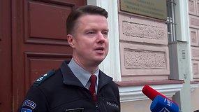 Komisariato viršininkas: agresyviai nusiteikusį E.Vėlyvį pareigūnai tramdė ir elektra