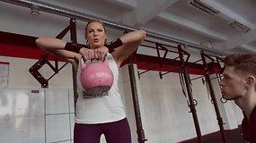 """Solveiga Mykolaitytė imasi """"CrossFit"""" treniruočių"""