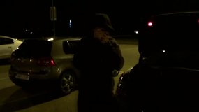 Nufilmuota: Kaune jaunuoliai užpuolė besilaukiančią moterį ir jos užsienietį vyrą