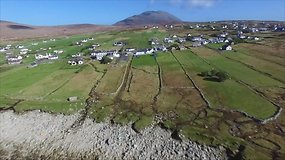 Po daugiau nei 30 metų vandenynas Airijos salai grąžino paplūdimį