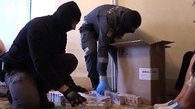 Vilniaus pareigūnai krėtė Šalčininkų krašto kontrabandinių prekių pardavėjus