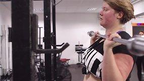 Sportui dydis nesvarbu: ar gali svorius kiloti moterys?